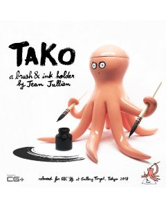 TAKO SAN  Brushes & Ink holder by Jean Jullien